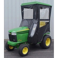 Standard Cab with Hinged Doors for John Deere LX, GT & GX Lawn Tractors