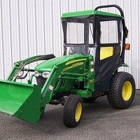 STANDARD CAB WITH HINGED DOORS FOR JOHN DEERE 2320, 2025R