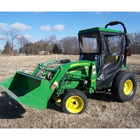 Standard Cab with Hinged Doors for John Deere 2520, 2720 & 2032R