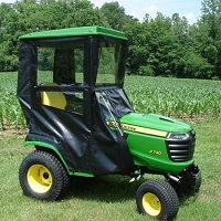 STANDARD CAB WITH HINGED DOORS FOR JOHN DEERE X400, X500HD & X700 SERIES