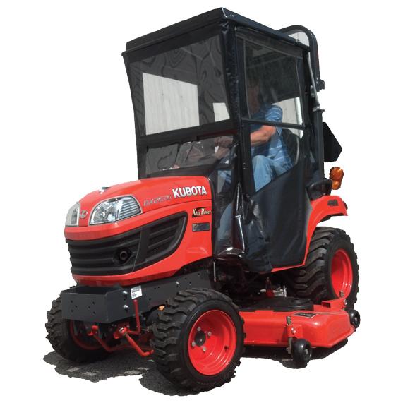 Homeu003ePRODUCTS BY BRANDu003eORIGINAL TRACTOR CAB u003e Cab Enclosure for Kubota BX 50 60 70 and 70-1 Series Tractors  sc 1 st  Wiedmann Bros & Hardtop Cab for Kubota BX 1850 1860 2350 2660 2360 Sub-Compact ...