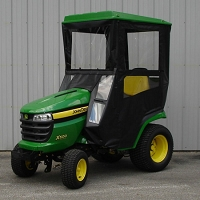 Standard Cab with Hinged Doors for 2016 John Deere X500 Series