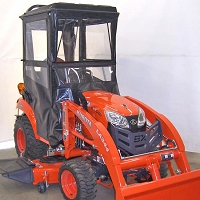 Standard Cab with Hinged Doors for Kubota BX80 Series Tractors