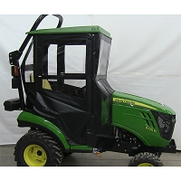 Standard Cab with Hinged Doors for John Deere 1 Series with Forward Leaning ROPS