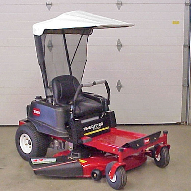 Soft Top Sunshade For Toro Zero Turn Mower