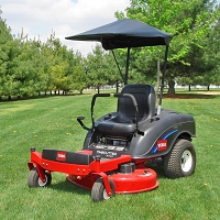 FABRIC SUNSHADE FOR TORO MOWERS