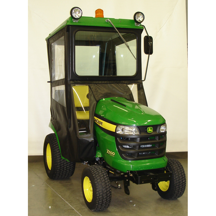 John Deere Lawn Tractor Enclosures : Hard top cab enclosure for john deere series tractors