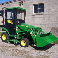 Standard Cab with Hinged Doors for John Deere 1 Series