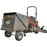 ES36 Estate Series Trailer Lawn Vac with Briggs & Stratton 900 Series Gas Engine