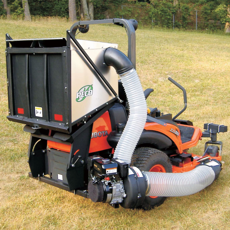 Pro12 Dfs Dump From Seat Commercial Zero Turn Vac System