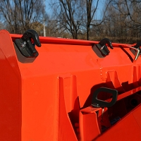 BOLT-ON BUCKET HOOK FOR KUBOTA BX SERIES TRACTORS