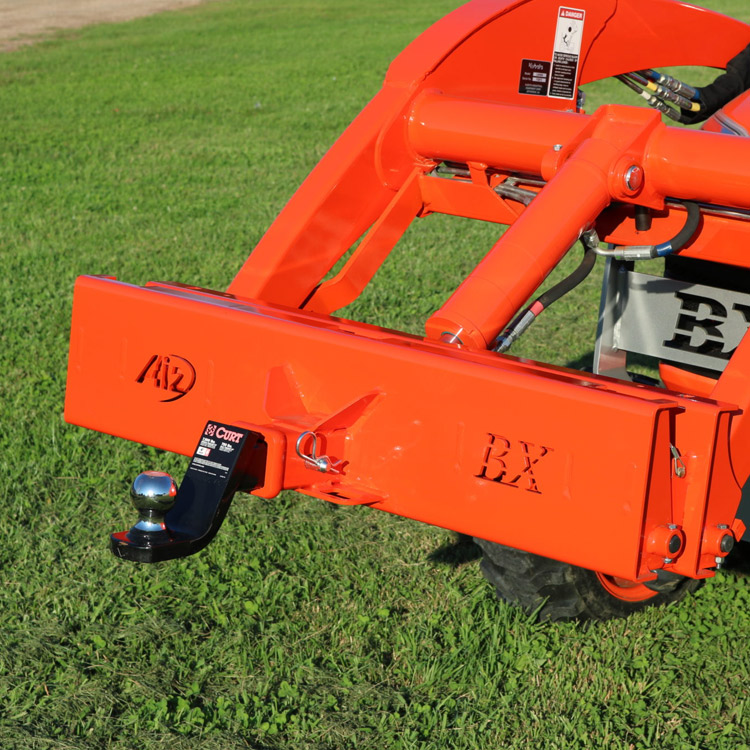 Kubota Bx2360 Accessories : Receiver hitch plate for kubota bx series tractors