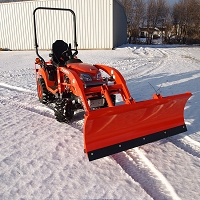 Snowplow Attachment For Kubota BX Series Tractors