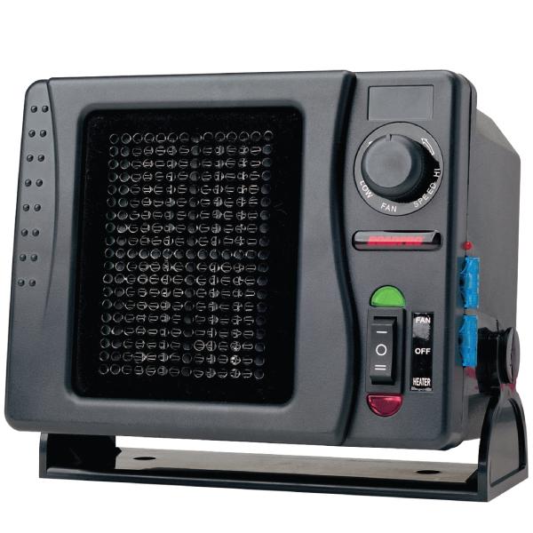 12-Volt Direct Hook Up Ceramic Heater/Fan