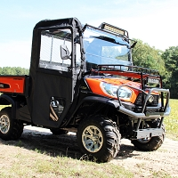 Hinged Door and Rear Window Kit for the Kubota RTV-X900 & RTV-X1120 ('15-17)