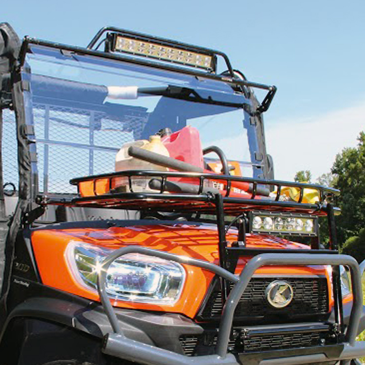 Telescoping Led Light Bar To Fit 2 Quot Utv Rops 9000 Lumens