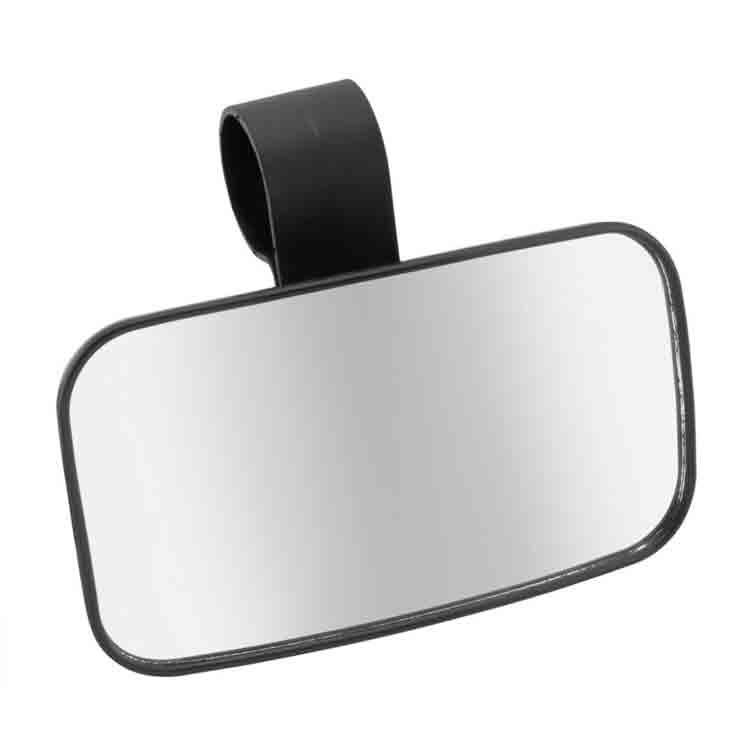 Tractor Side Mirrors : Universal side rear view utv mirror quot clamp