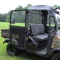 FRAMED DOOR & REAR WINDOW KIT WITH STEEL FRAME FOR KUBOTA RTV900