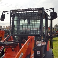 Front Protective Screen with Light Protectors for Kubota R530 & R630
