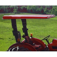 Tel-Trax 2000 Series Fiberglass Canopy Kit for Farmall 45A and 55A Tractors