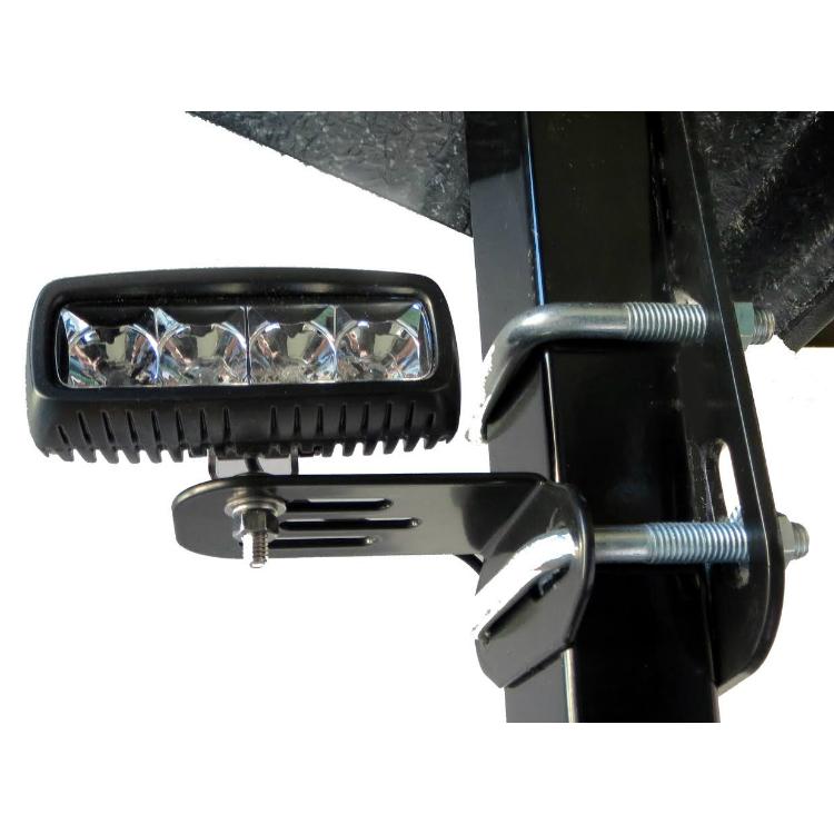 Roll Bar Mounted Light Bracket Pair