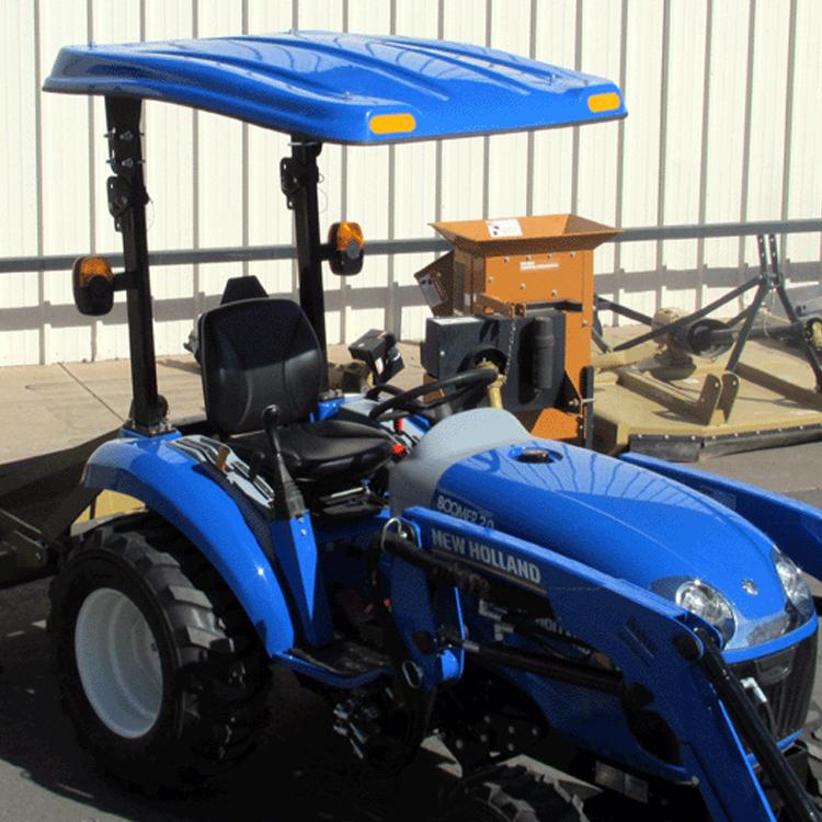 P10 Series Fiberglass Canopy For Tractors Amp Mowers Blue