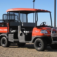 Deluxe Fiberglass Sunshade Kit for the Kubota RTV1140