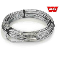 Replacement Winch Wire Rope - 7/32