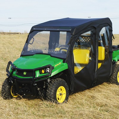 Full Cab Enclosure To Fit With Vented Lexan Windshield For John Deere 550 S4