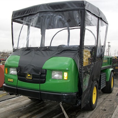 Full Cab Enclosure With Vinyl Windshield For John Deere