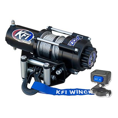 KFI 2000 lb UTV Series Winch - Steel Cable