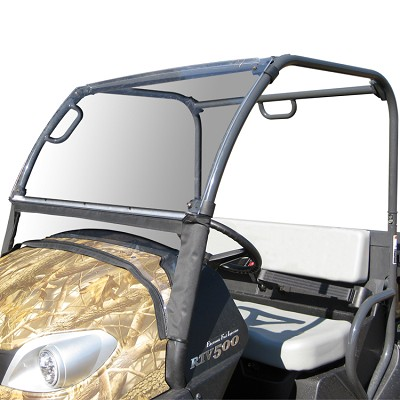 Acrylic Windshield with Fabric Lower Panel for the Kubota RTV500
