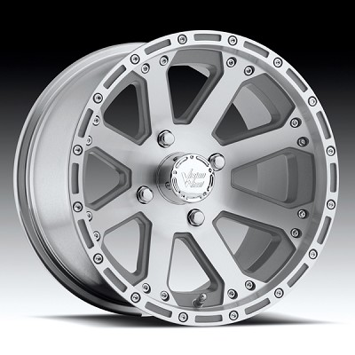 "14"" Outback Machine Polished UTV Wheel"