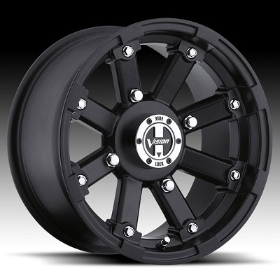 "14"" x 8"" Lockout Matte Black UTV Wheel"