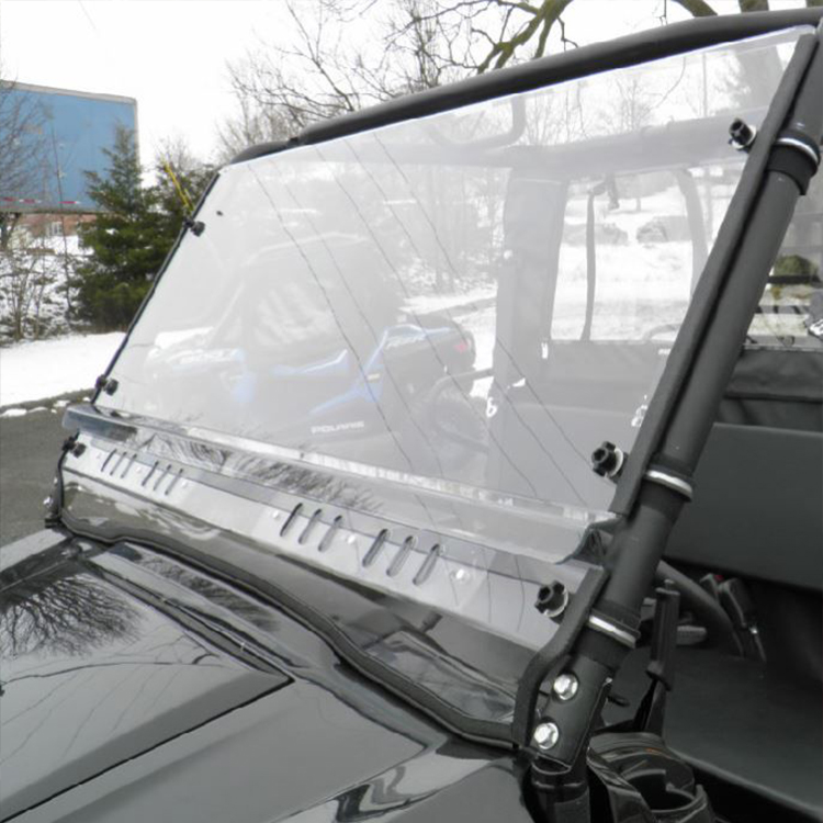 GENERAL PURPOSE POLYCARBONATE 2-PC VENTED WINDSHIELD FOR Kawasaki Mule Pro FX Trans
