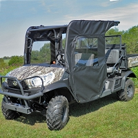 SIDE DOOR AND REAR WINDOW KIT FOR KUBOTA RTV1140: FRONT 1/2 ONLY