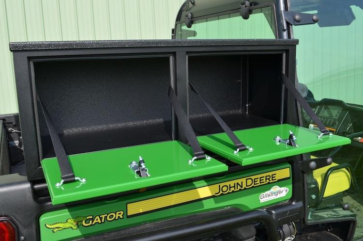 John Deere Gator Accessories >> Side Mount Storage Box for John Deere Full Size Gator