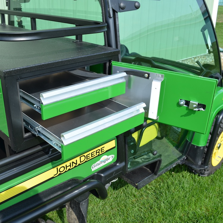 John Deere Gator Accessories >> 12 High Crossover Cabinet With Drawers For John Deere Full Size Gator