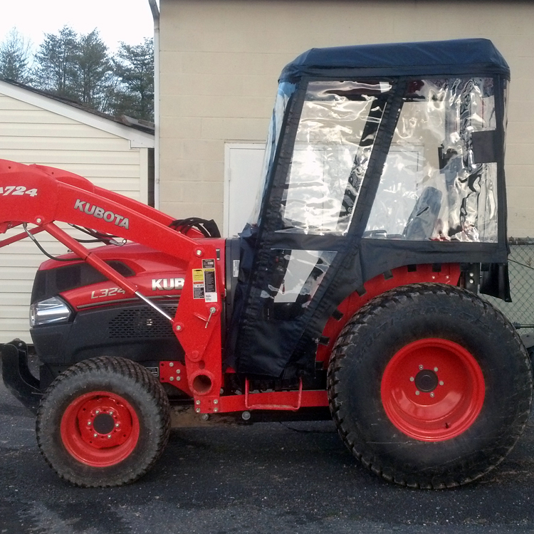 Tractor Cab for Kubota L Series Tractors (Requires Canopy)