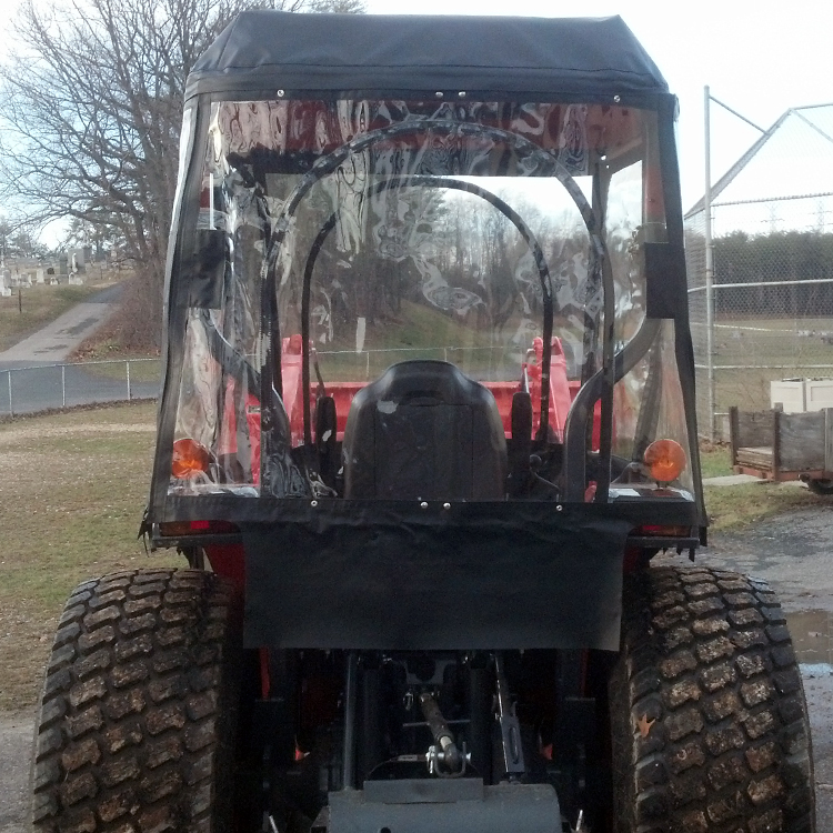 Tractor Cab Enclosure For Kubota L Series Tractors
