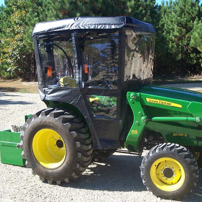 Tractor Cab Enclosure for John Deere 3000 Series Tractors - Requires Canopy