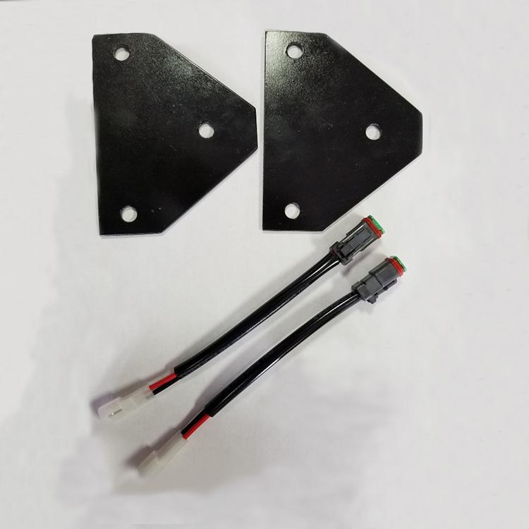 Mounting Brackets  U0026 Wiring Harness For Kubota Rtv