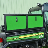 Side Mount Storage Box for John Deere Full Size Gator (Double Door)