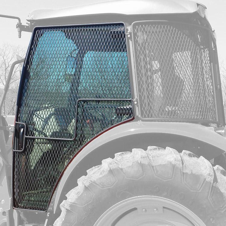 Rock Screen Guard For Left (Driver) Door Fits Case IH Tractors FARMALL  130A, 140A