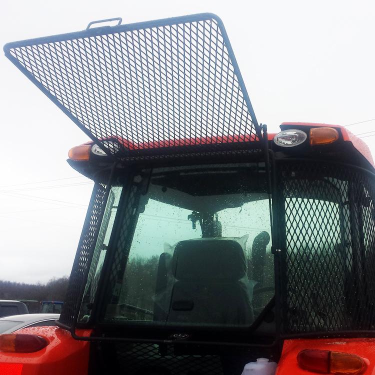 Rear Rock Screen Guard For Kubota Tractors M5-091, M5-111 Kubota Radio Wiring Harness on