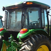 Protective Cab Screen For John Deere 6130R