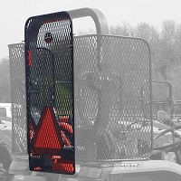 Rear Protective Rock Screen Open Station ROPS for Standard L Series