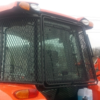 Rear Rock Screen Guard for Kubota Tractors Grand L5460, L6060