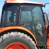 Protective Cage Door Kit - M Series Tractors LEFT (Driver)