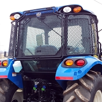 Protective Cage for New Holland T5 Series Cab Tractors and Case IH Farmall 105U - 120U Series